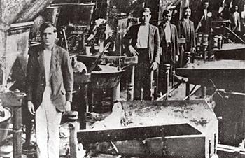 Operário de uma fábrica de São Paulo durante a greve geral de 1917