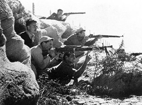 A Haganá foi o grupo paramilitar judeu que deu origem às Forças de Defesa de Israel