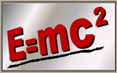 Famosa equação da Teoria da Relatividade