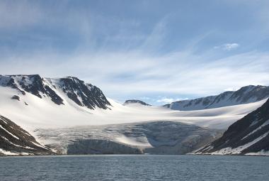A glaciação provoca a expansão da cobertura de gelo sobre a superfície terrestre