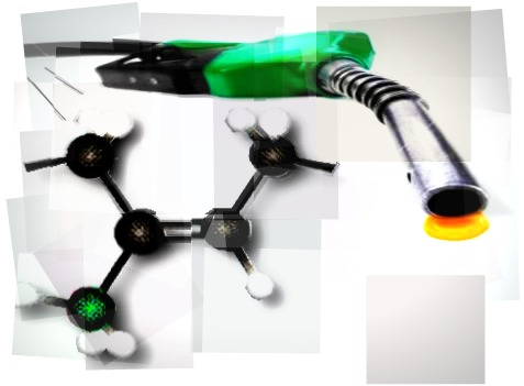 As mangueiras das bombas de gasolina são feitas de uma borracha sintética cujo polímero constituinte é o policloropreno ou neopreno