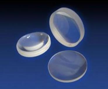 As lentes esféricas podem ter diferentes tamanhos