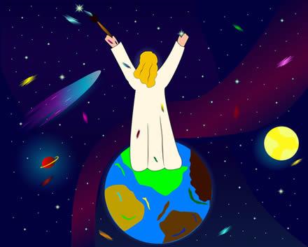 O criacionismo cristão é a ideia defendida pela Bíblia para explicar a origem do homem