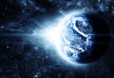 A Terra já possui alguns bilhões de anos em sua bagagem!