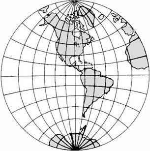 Projeções são técnicas de se representar o mundo esférico em um plano