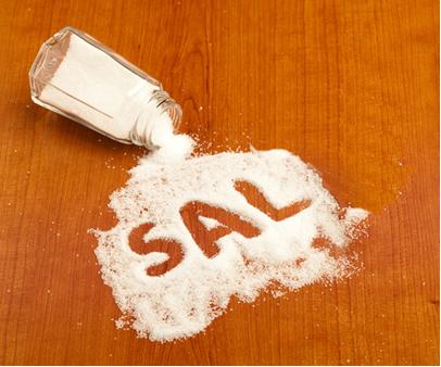 O cloreto de sódio é o sal mais importante