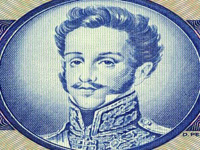 Através da Constituição de 1824, D. Pedro I pôde exercer de forma centralizada o poder no Brasil Imperial.*