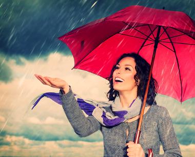 É possível diferenciar os vários tipos de chuvas existentes