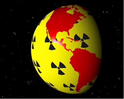 O Brasil é um dos países que possui usinas de geração de energia nuclear