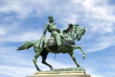 Giuseppe Garibaldi era membro da sociedade dos carbonários e um dos principais agentes da Unificação Italiana