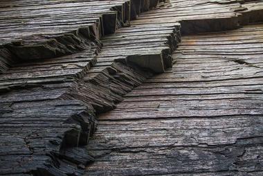 As rochas sedimentares costumam agrupar-se em camadas