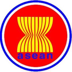 Logotipo da Associação das Nações do Sudeste Asiático.