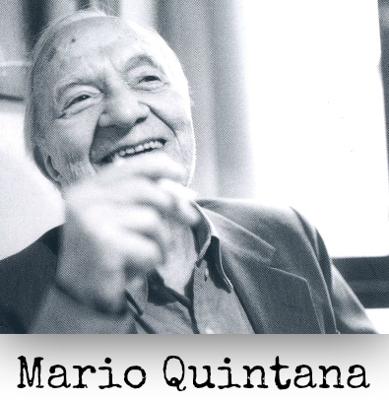 Fotografia de Mario Quintana que ilustra a capa do livro Ora bolas: O humor de Mario Quintana, de Juarez Fonseca, Editora L&PM Pocket