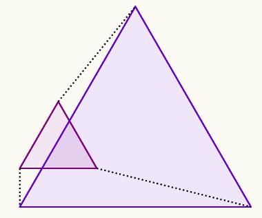 A semelhança de triângulos garante a semelhança sem tomar todas as medidas