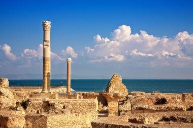 Cartago foi a principal inimiga de Roma à época da expansão dessa última