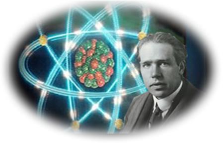 Niels Bohr propôs seu modelo atômico inicialmente para o átomo de hidrogênio e, por esse trabalho, recebeu o Prêmio Nobel em 1922