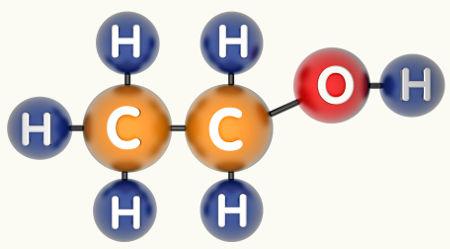 O etanol pode ser obtido a partir de uma reação de redução em aldeído