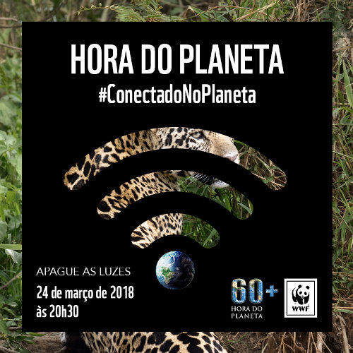 A Hora do Planeta de 2018 será dia 24 de março