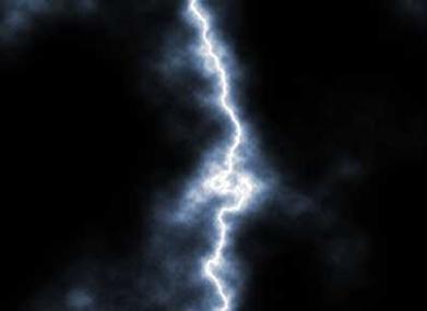 Uma descarga elétrica é composta por diversas cargas elétricas
