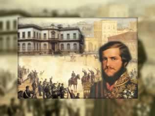 A construção da Identidade Nacional brasileira se efetivou no século XIX. D. Pedro II e a elite política imperial forjaram os elementos simbólicos que deram unidade à nação brasileira