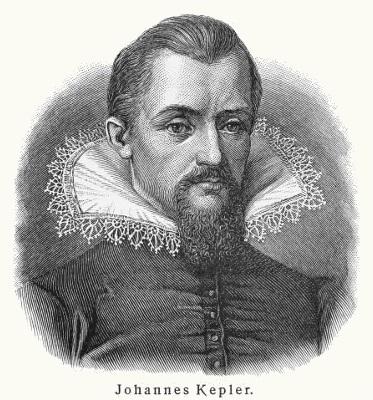 Em sua obra máxima, Kepler mostrou que os planetas descrevem trajetórias elípticas ao redor do Sol