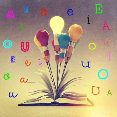 As Vogais A – E – I – O – U representam o núcleo das sílabas da Língua Portuguesa