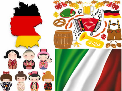 Símbolos e cultura dos imigrantes
