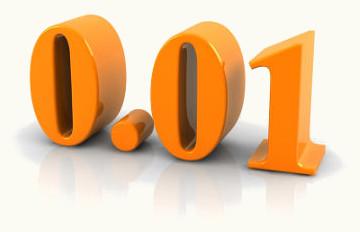 Número decimal após sofrer processo de arredondamento