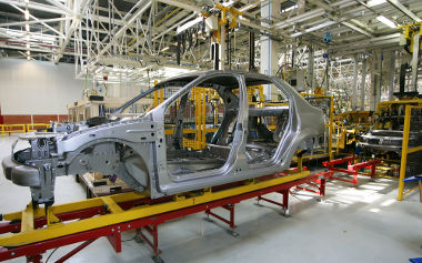 A indústria de carros pode ser classificada de bens de consumo duráveis ou de transformação