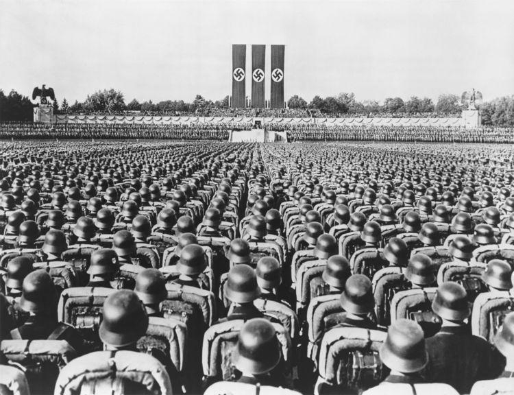 As Leis de Nuremberg foram apresentadas no comício anual do Partido Nazista que acontecia na cidade de Nuremberg, Alemanha.*