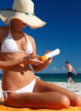 Filtros solares protegem a pele
