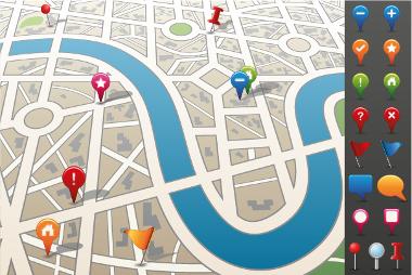 As legendas são elementos cartográficos de vital necessidade para os mapas
