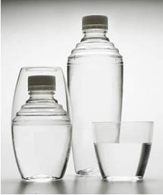 Será que em uma garrafa fechada há água evaporada?