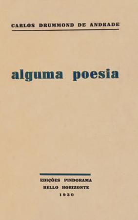 Capa da obra <em>Alguma poesia</em>, Edições Pindorama, 1930