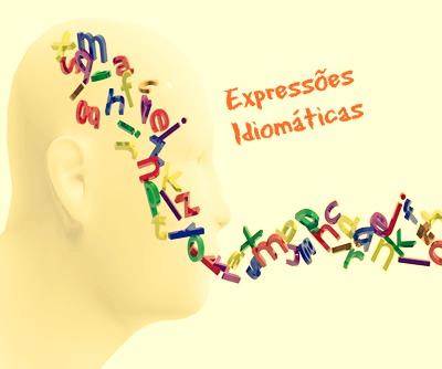 As expressões idiomáticas não são compreendidas de forma isolada, mas sim por meio de um contexto específico