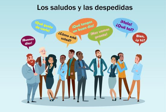 Los saludos y las despedidas alunos online todos os dias saudamos ou nos despedimos de algum no seria diferente em espanhol altavistaventures Images