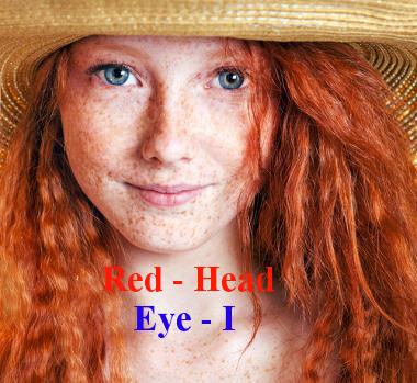 Is she a redhead girl? - Yes, she is! / Ela é ruiva? Sim, ela é
