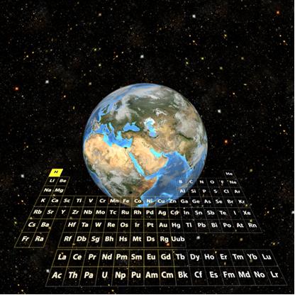 O hidrogênio é o elemento mais abundante do Universo e o nono mais abundante na Terra