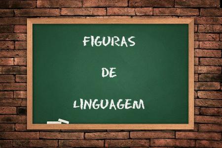 As figuras de linguagem são divididas em: figuras de palavras, de pensamento, de sintaxe e de som