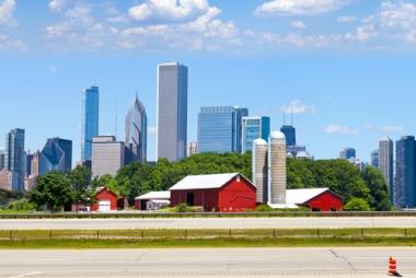 O Espaço Geográfico envolve as relações humanas no campo e na cidade