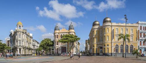 A cidade de Recife, capital de Pernambuco, foi o palco do início da Revolução Pernambucana de 1817*