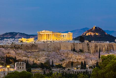 Atenas, na Grécia, foi o berço da democracia ocidental