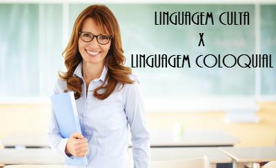 São dois os níveis de linguagem: a linguagem culta, que segue as regras gramaticais, e a linguagem coloquial, marcada pela informalidade