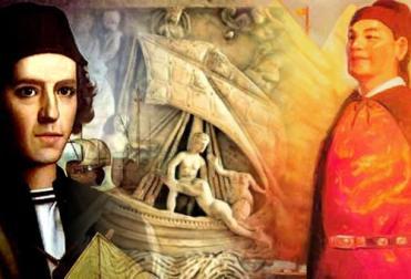 """Pinzón, os fenícios e Zheng He: outros possíveis """"descobridores"""" do Brasil."""