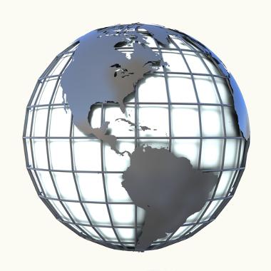 A combinação das latitudes e longitudes forma a construção das coordenadas geográficas