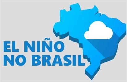 O El Niño altera a dinâmica climática de diferentes modos nas regiões brasileiras