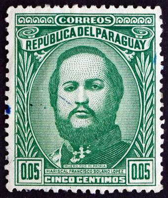 Francisco Solano López era o presidente (ditador) do Paraguai durante o período da guerra*