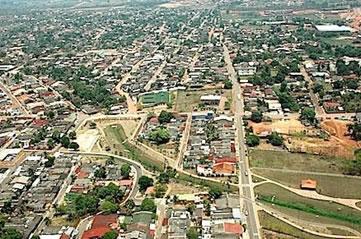 Rio Branco, capital e cidade mais populosa do Acre