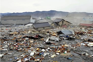 Consequências do terremoto no Japão