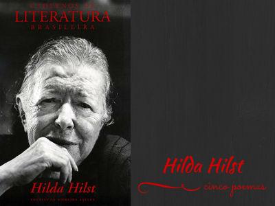 Capa do periódico do Instituto Moreira Salles, Cadernos de literatura brasileira, Edição Hilda Hilst